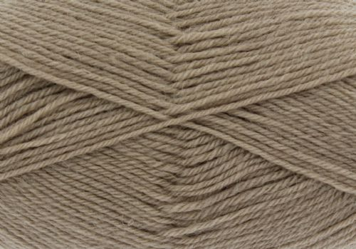 King Cole Pure Wool Yarn 500g Cone 4ply - Dune